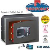 Technomax Χρηματοκιβώτιο εντοιχιζόμενο DD Diplo, με κλειδί και μηχανικό κωδικό