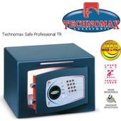 Technomax Χρηματοκιβώτιο επιδαπέδιο DTR, με κωδικό & χρονοκαθυστέρηση (σχισμή)