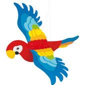 Goki Παπαγάλος ξύλινος Κρεμαστός