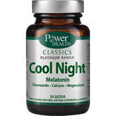 POWER HEALTH - Classics Platinum Cool Night Melatonin tabs 30s