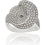 Δαχτυλίδι Κ18 με Διαμάντια, 014706