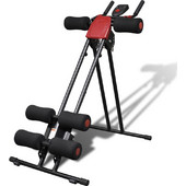 vidaXL Υψηλής Ποιότητας Πτυσσόμενο Όργανο Γυμναστικής Ασκήσεων Κορμού Οθόνη