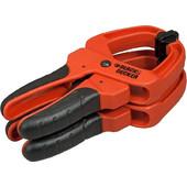 Black Decker Σφιγκτήρας Χειρός Ασφαλείας (τσιμπίδα) 50mm 2τεμ