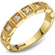 Δαχτυλίδι Vogue Sweethearts χρυσό ασήμι 925 με ζιργκόν