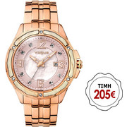 Vogue Day & Night Crystal Rose Gold Stainless Steel 97021/2