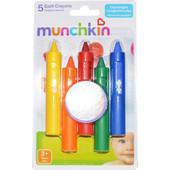 Munchkin Κηρομπογιές Για Το Μπανάκι σε 5 Χρώματα