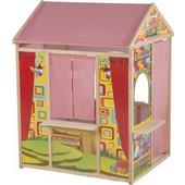 Ξύλινο Παιδικό Σπιτάκι Κουκλοθέατρο 119x84x90cm, Marionette Wooden Toys Cb 56388 - Marionette Wooden Toys Cb - 00008564