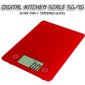 Γυάλινη Ψηφιακή Ζυγαριά Ακριβείας Κουζίνας 5Kg-1g