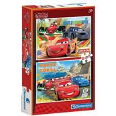 PEDIA PUZZLE CARS 2X20 CLEMENTONI - (07005)