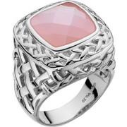 Δαχτυλίδι Vogue Promise ασήμι 925 με ρόζ ζιργκόν