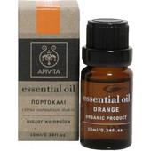 Apivita Essential Oil Orange Αιθέριο Έλαιο Πορτοκάλι 10ml