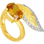 Δίχρωμο Δαχτυλίδι Κ14 000306 000306 Χρυσός 14 Καράτια
