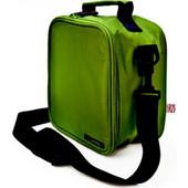 Τσάντα ισοθερμική μεταφοράς φαγητού πράσινη Lunchbag Basic IRIS 9234-TX