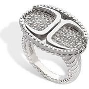 Γυναικείο Κόσμημα Δαχτυλίδι από ανοξείδωτο ατσάλι με Κρύσταλλα της σειράς Just Street, Just Cavalli SCAAD05014 - Just Cavalli - 00010532
