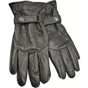 SCHOTT ΓΑΝΤΙΑ LEATHER GLOVES BUFFLE LOGO 3D BLACK