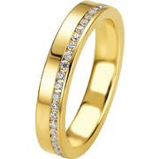 Σειρέ δαχτυλίδι χρυσό με brilliant - 4708