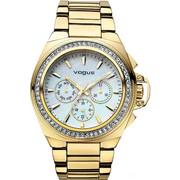 Vogue Etoile Crystal Gold Stainless Steel Bracelet 97003/1
