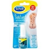 Scholl Velvet Smooth Nail Care Oil Θρεπτικό Λάδι Περιποίησης Νυχιών 7, 5ml
