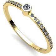 Δαχτυλίδι σειρέ σε λευκό χρυσό Κ18