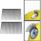 2 PCS Etle ElecTric Eye Vehicle Eyelashes(Black) SK258028