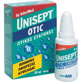 INTERMED UNISEPT OTIC DROPS 30ml