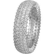 Λευκόχρυσο τετράσειρο δαχτυλίδι Κ14 022302 022302 Χρυσός 14 Καράτια