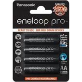 Μπαταρίες Επαναφορτιζόμενες Panasonic Eneloop AA 2500mAh 4pcs Bl