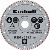 Διαμαντοδισκος κοφτη πλακιδιων Φ200x1.6mm EINHELL