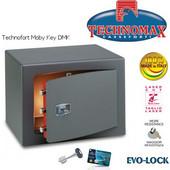 Technomax Χρηματοκιβώτιο επιδαπέδιο DMK Moby, με κλειδί