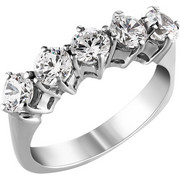 Σειρέ δαχτυλίδι Κ18 λευκόχρυσο με διαμάντια SBR_001