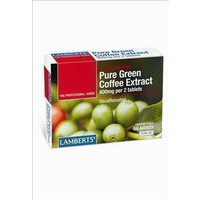 Lamberts Pure Green Coffee 400mg 60s