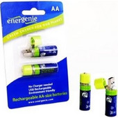 Energenie AA USB CELL (2 pieces) Rechargable