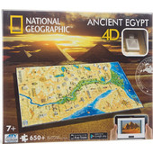 PUZZLE 4D NATIONAL GEOGRAPHIC CIVILIZATIONS ΑΙΓΥΠΤΟΣ 600ΚΟΜΜΑΤΙΑ