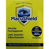 Macushield Συμπλήρωμα Διατροφής Για Την υγεία Των Ματιών 30 caps