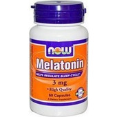Now Melatonin 3 mg 60 caps