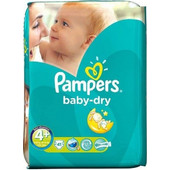 Pampers Baby Dry Maxi Plus No4 9-20kg 41τμχ