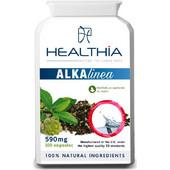 Healthia Healthia Alkalinea 590mg για Αλκαλοποίηση, Καθαρισμό & Αποτοξίνωση του Οργανισμού (100 Κάψουλες)