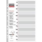 ΤΥΠΟΤΡΑΣΤ Διαχωριστικά Ντοσιέ Α4 Μηνών (IAN-DEC )