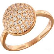 Δαχτυλίδι Vogue Ballroom ρόζ χρυσό ασημί 925 με ζιργκόν 566111.2