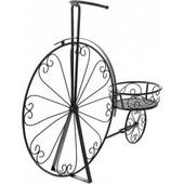 Ποδήλατο Μεταλλικό Διακοσμητικό Μαύρο 80x24x66cm