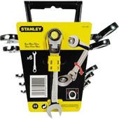 Σετ γερμανοπολυγωνα καστανιας 8-19mm 6τεμ. STANLEY 4-91-444