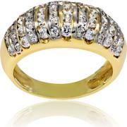 Δαχτυλίδι Κ14 με Ζιργκόν, 000759
