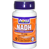 NOW FOODS NADH 10mg (60 ΚΑΨΟΥΛΕΣ)