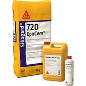 Τριών συστατικών μικροκονίαμα για επιφανειακή σφράγιση SIKA Sikagard -720