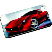 ΘΗΚΗ IPHONE 4/4S BACK COVER FERRARI