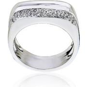 Δαχτυλίδι Κ18 με Διαμάντι, 003482