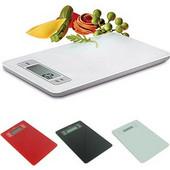 Ψηφιακή Ζυγαριά Κουζίνας Ακριβείας! Κατασκευασμένη από χοντρό γυαλί ασφαλείας, σε 3 υπέροχα χρώματα - OEM - 001.3355