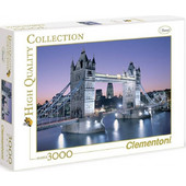 Clementoni Παζλ 3000τεμ Η Γέφυρα Του Λονδίνου 1220-33527