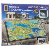 Παζλ 4D Civilizations Ελλάδα - 600 Κομμάτια 61002