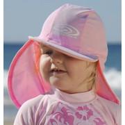 Sun Emporium Αντηλιακό Βρεφικό Καπελάκι Ροζ 6-12 Μηνών